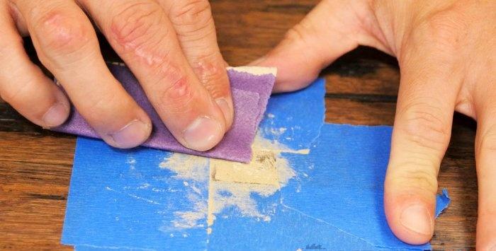 3 maneiras de remover arranhões de qualquer profundidade de uma superfície de madeira