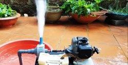 Моторна помпа от двигател на резачка
