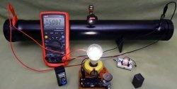 Bateria de água de 220 V