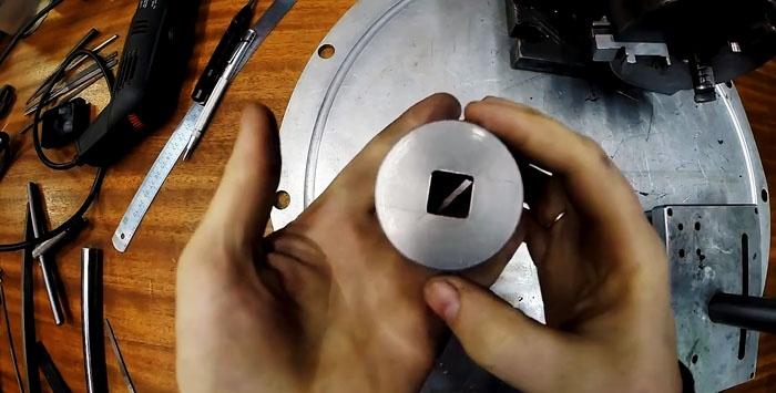 Hur annars kan du göra ett fyrkantigt hål
