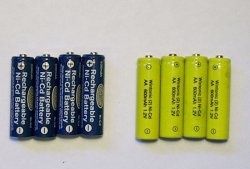 Recuperando as baterias de níquel-cádmio mortas