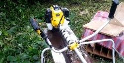 Cum și ce să lubrifiați arborele din tijă motor-coasă