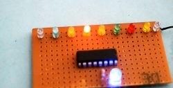 Luzes de circulação DIY em um chip