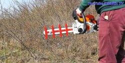 Cum puteți transforma un ferăstrău cu lanț într-un tăietor cu perie, un dispozitiv de fixare de casă demontabil