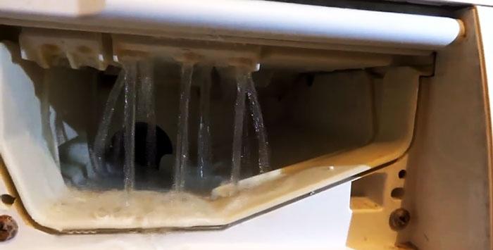 Πώς να διορθώσετε προβλήματα σκόνης πλυσίματος με ένα πλυντήριο ρούχων