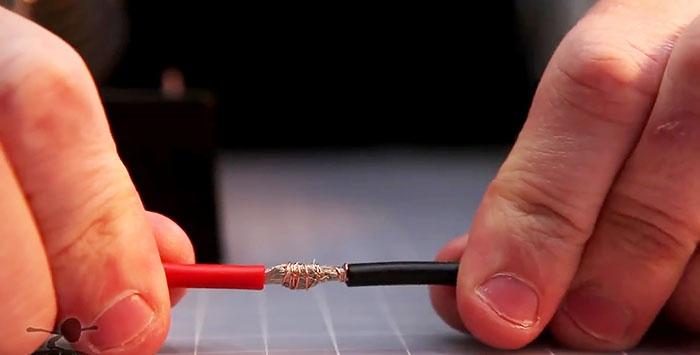 Η ισχυρότερη σύνδεση καλωδίων μεγάλης διατομής χωρίς πάχυνση με συστροφή