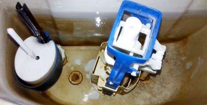 Ένας γρήγορος και 100 τρόπος για την εξάλειψη διαρροής λεκάνης τουαλέτας