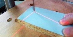 Cum se face un indicator laser de casă la o mașină de găurit