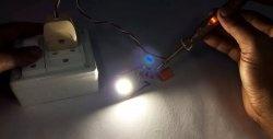 Cea mai simplă sursă de transformare fără transformare pentru matricea LED