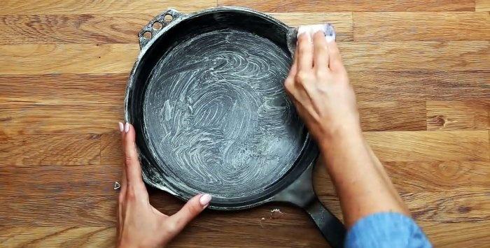 Καθαρισμός και φροντίδα της χυτοσίδηρου