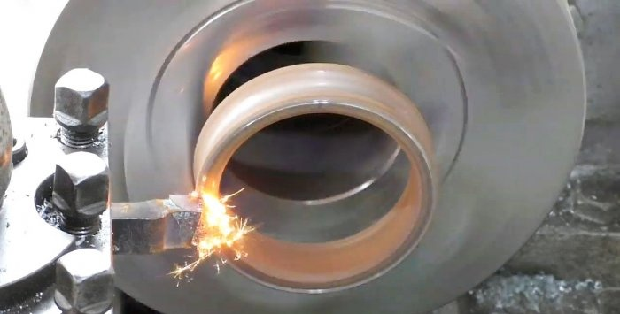 Which cutter will take the bearing