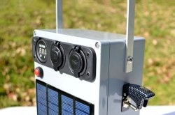 Centrală solară portabilă pentru camping, drumeții