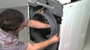 Как да сменим маншета на люка на пералнята