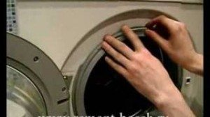 Извадете маншета на пералнята