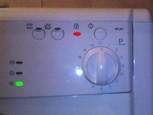 Вратата (люкът) на пералнята не се отваря