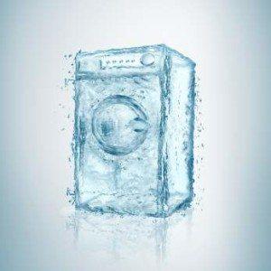 Нивото на водата в пералнята - изтегля много или малко вода (преливане и недопълване)