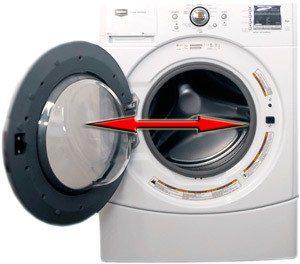 Отключете пералнята със собствените си ръце.