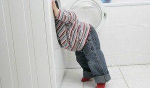 Bagaimana hendak mencuci di mesin basuh?