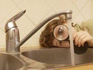 Твърда вода от чешмата