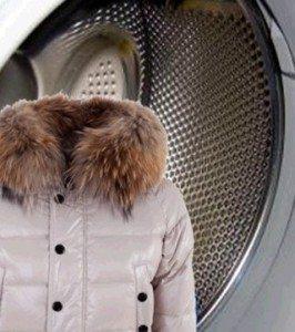 כיצד לשטוף ז'קט למטה במכונת כביסה
