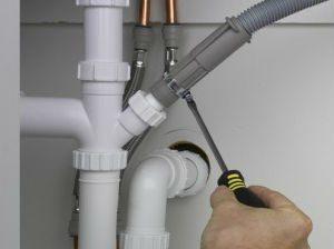 Sambungan ke air mesin basuh