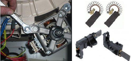 Моторни четки за перални машини