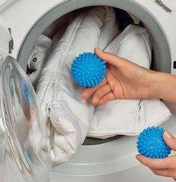 Bola dan bola untuk mencuci jaket