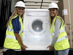 Безплатно премахване на пералнята