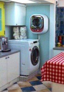 Перални машини в кухнята