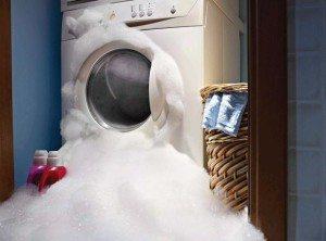 Пяна в пералнята