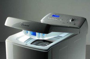 Vertikal lasting av vaskemaskiner