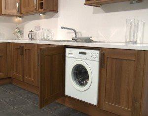 מכונת כביסה במטבח - תכונות התקנה
