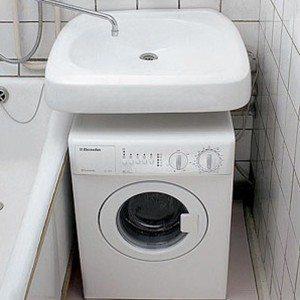 Mosogató mosógép fölé