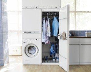 ארון מכונת כביסה DIY