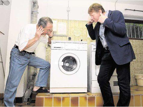 Пералнята е шумна по време на цикъла на въртене - какво да правя?