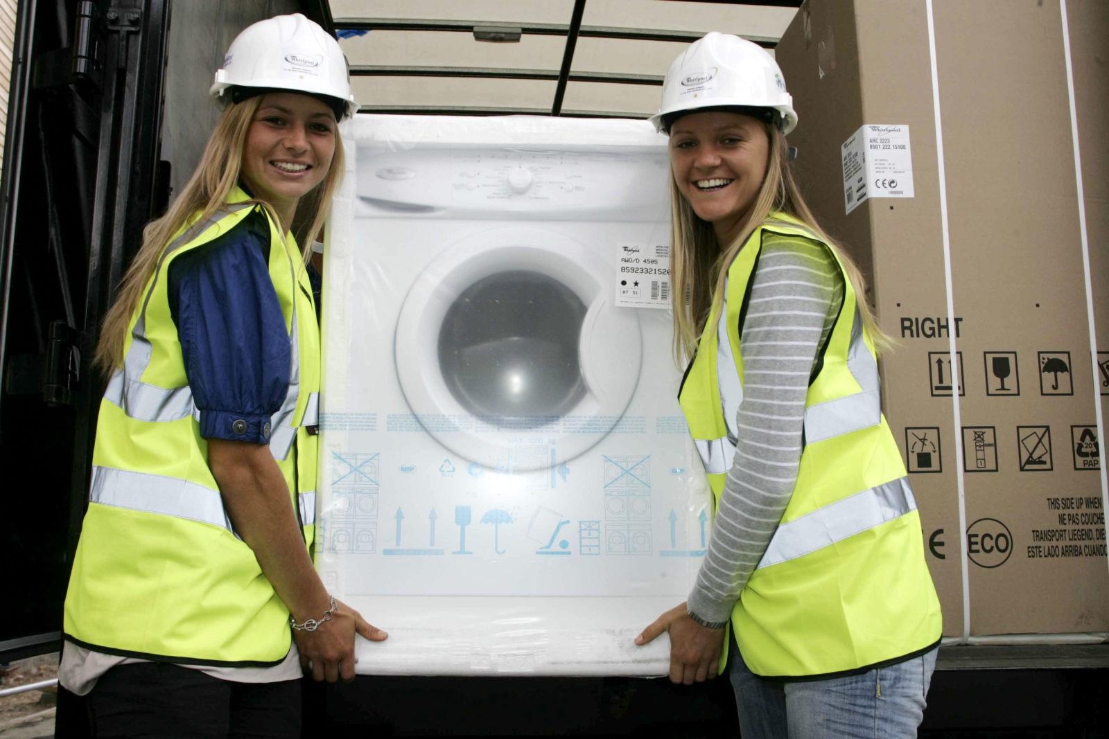 Как да транспортирате пералня - съвети на съветника