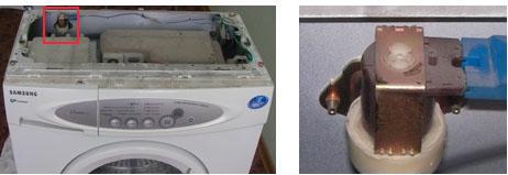 самостоятелно източване в пералнята