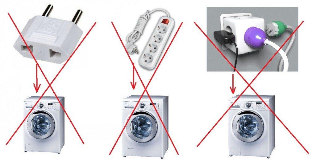 свързване на пералнята към мрежата