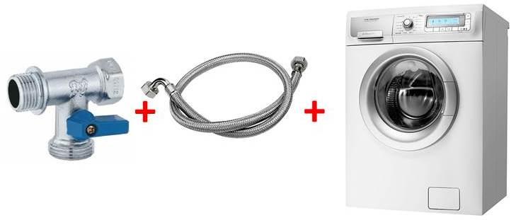 Избираме и монтираме тройник кран за пералня