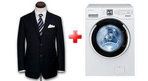 Bagaimana hendak membasuh jaket di mesin basuh?