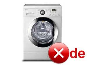 Грешка de на пералнята на LG