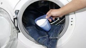 Bagaimana hendak mencuci jins di mesin basuh?