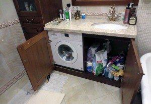 вградени перални машини