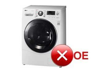 OE грешка в пералнята на LG
