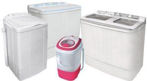 Bagaimana untuk memilih mesin basuh separa automatik dengan putaran?
