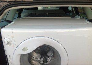 транспортира пералня