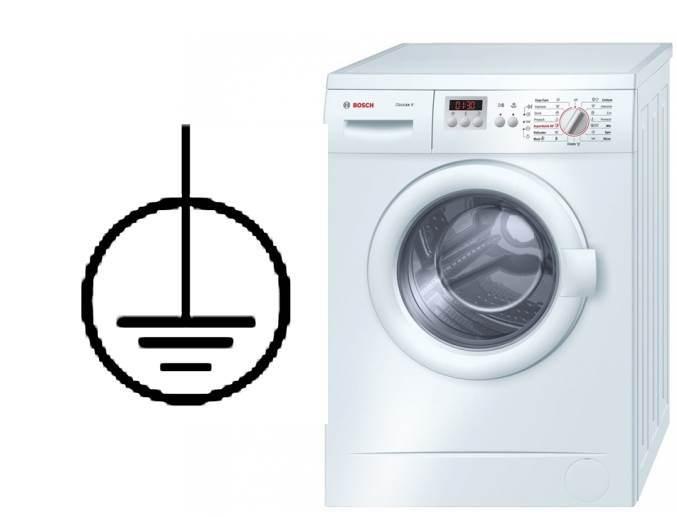Tự nối đất máy giặt