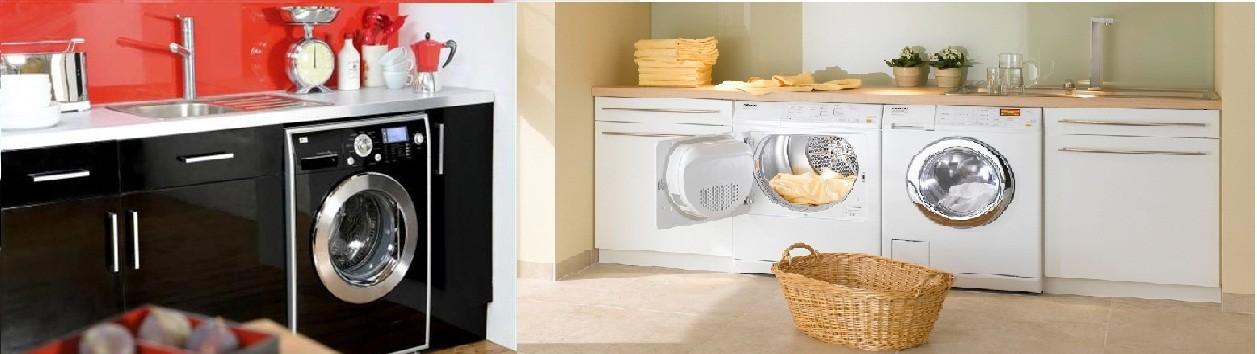 Önden yüklemeli çamaşır makinesi içi
