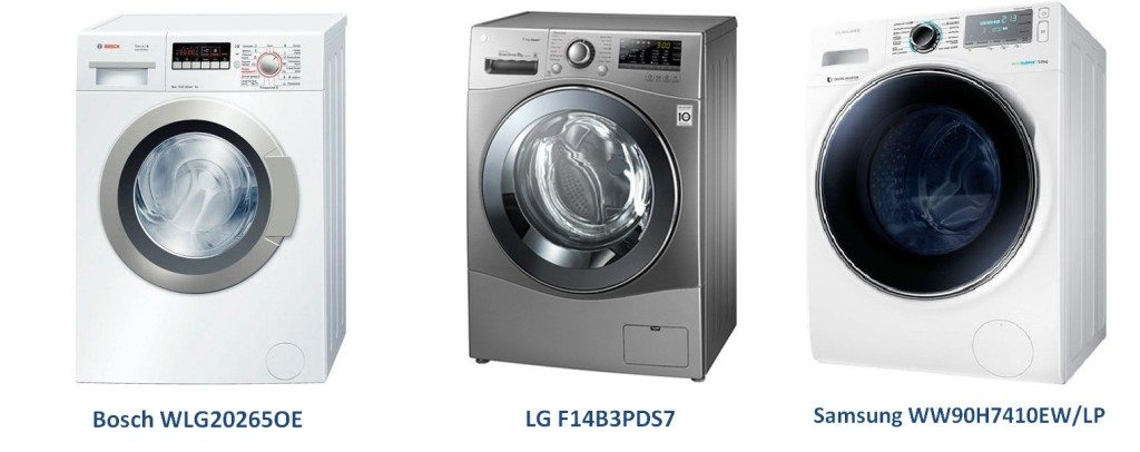 марки перални машини