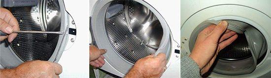 маншет на пералнята